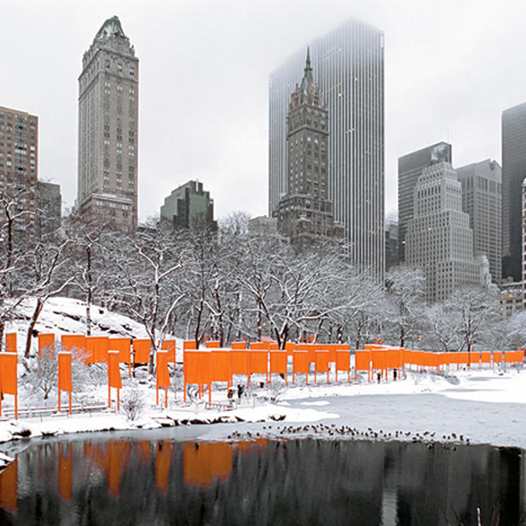 Christo and Jeanne-Claude_The Gates, Central Park, New York City, 1979-2005 (Photo)