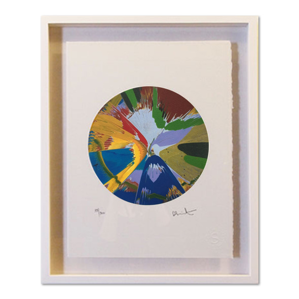 Damien Hirst_Spin Painting