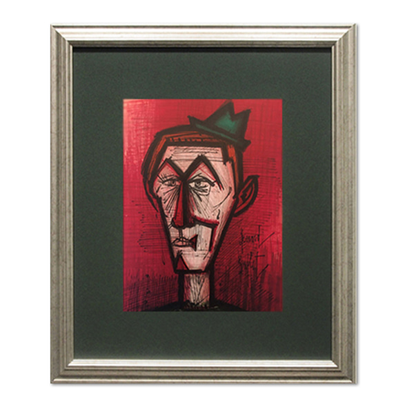 Bernard Buffet_Le crown au Fond Rouge