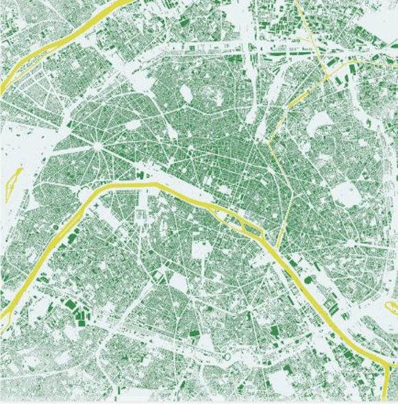 abc collection_Paris, map (Green)