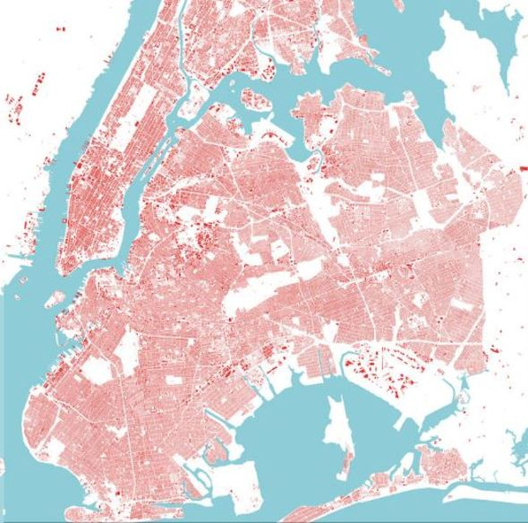 abc collection_New York, map (Red)