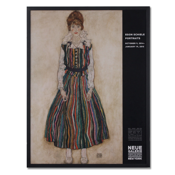 Egon Schiele_Portrait of Edith Poster
