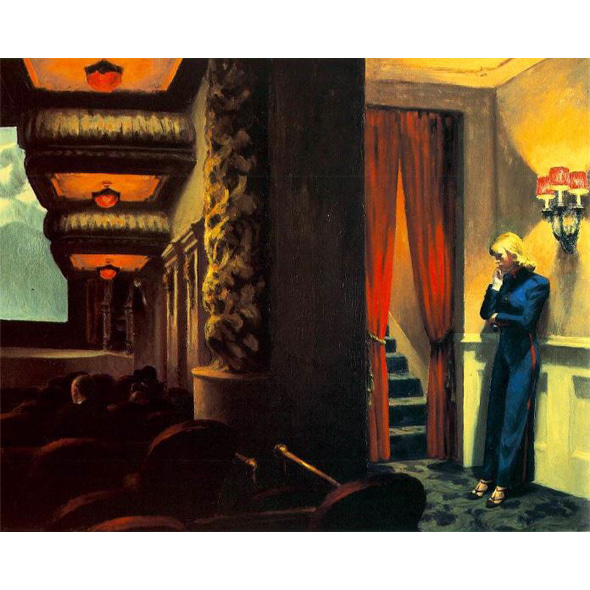Edward Hopper_New York Movie, 1939