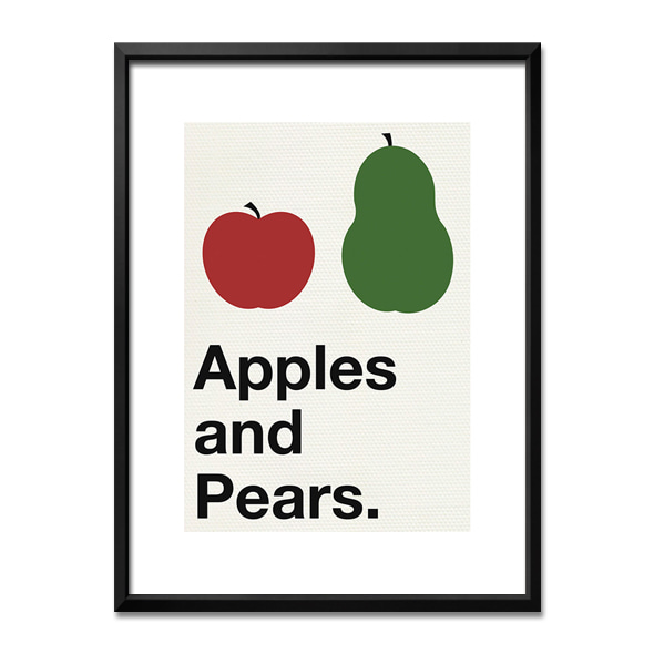 Yeah, that_Apples and Pears red and green