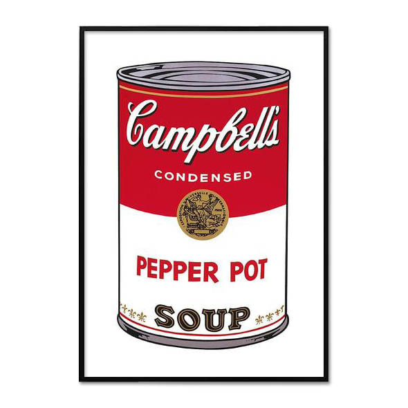 Andy Warhol_CAMPBELL'S SOUP I _PEPPER POT, 1968