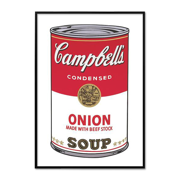 Andy Warhol_CAMPBELL'S SOUP I_ONION, 1968