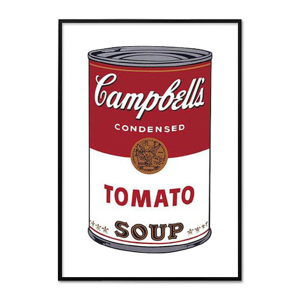 Andy Warhol_CAMPBELL'S SOUP I_TOMATO, 1968
