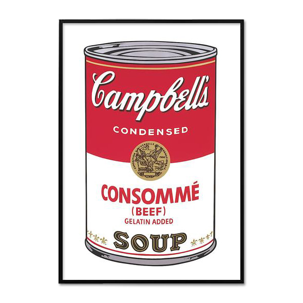Andy Warhol_CAMPBELL'S SOUP I_CONSOMME, 1968
