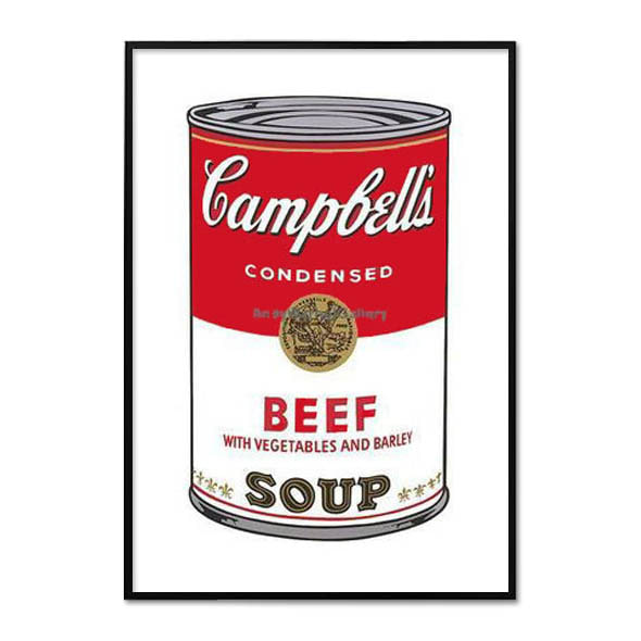 Andy Warhol_CAMPBELL'S SOUP L_ BEEF, 1968