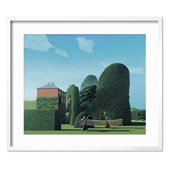 David Inshaw_The Badminton Game