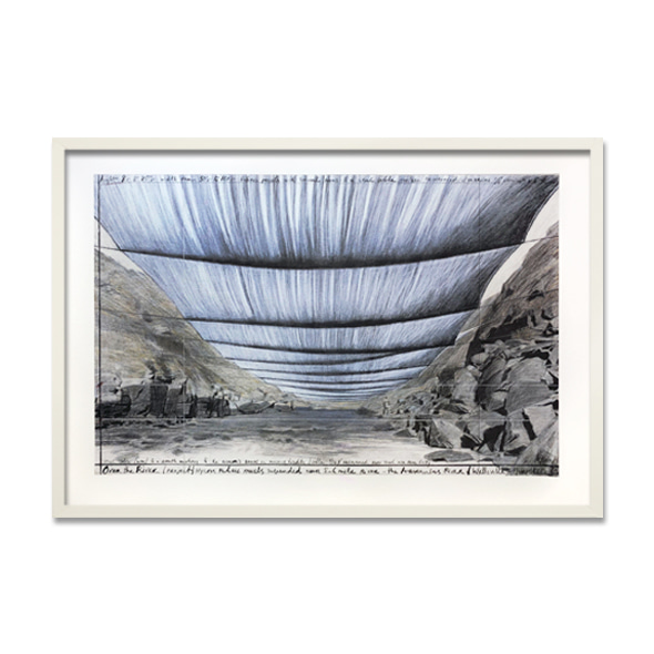 Christo and Jeanne-Claude_Over the River IV_ Underneath