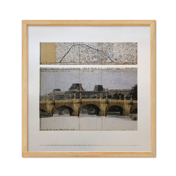 Christo and Jeanne-Claude_The Pont Neuf Wrapped, Project for Paris