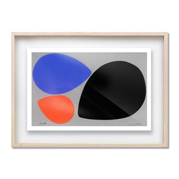 Jerry Kott_Birth Black, Orange&Blue Eggs