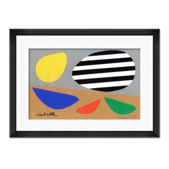 Jerry Kott_Three Birds wih Striped Egg